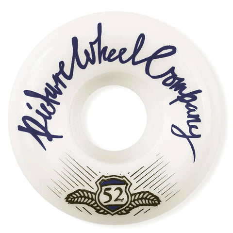 PICTURE - SHIELD 83B CONICAL SHAPE WHEELS 56MM - NAVY