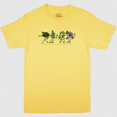 PASS~PORT FLORAL FRIENDS TEE BANANA