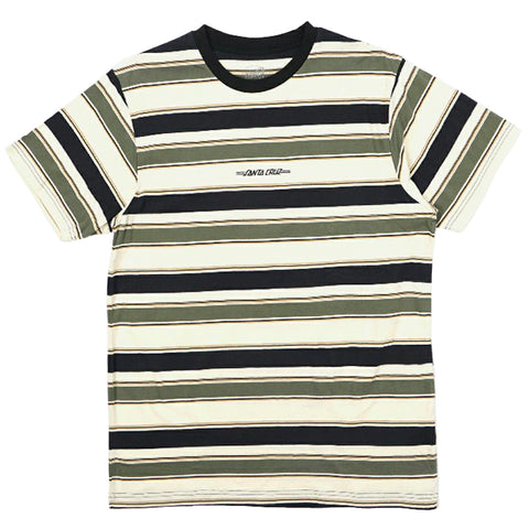 SANTA CRUZ CURB STRIPE TEE - CYPRESS
