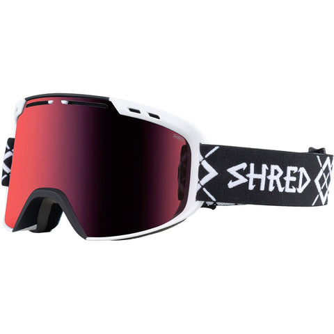 SHRED - AMAZIFY GOGGLES 2018 - BIG SHOW BLACK WHITE