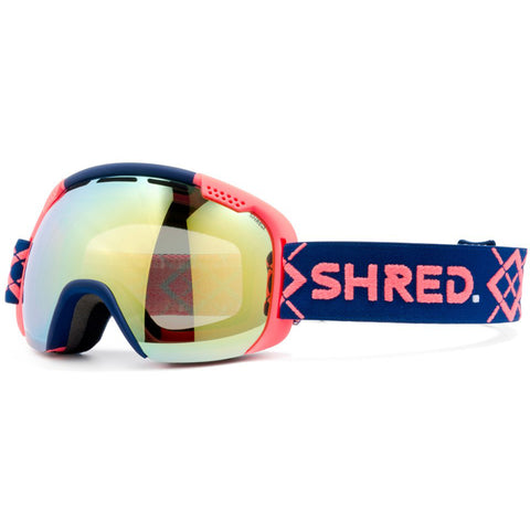 SHRED - SMARTEFY GOGGLES 2019 - BIGSHOW NAVY/RUST