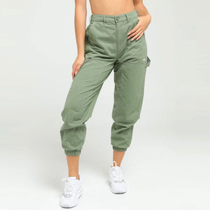 STUSSY FULLER WORKERS WOMENS PANTS LICHEN GREEN