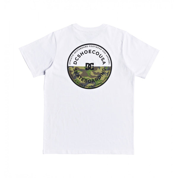 DC BIG JET YOUTH TEE - WHITE