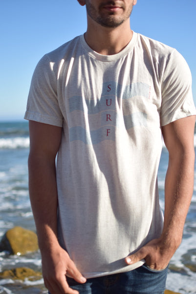 Go Surfing Now! Tee (Oatmeal)