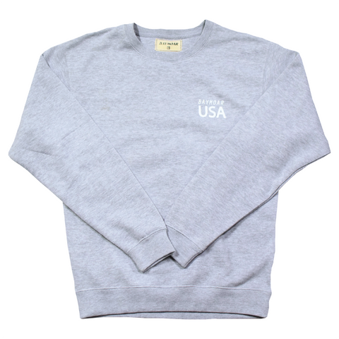 Heavyweight USA Crewneck