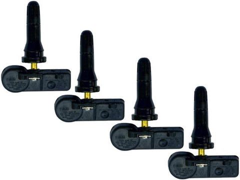 Set of 4 Sensors for 2016 Ford E-350 Super Duty | Schrader DE8T-1A180-AA OE TPMS Sensor