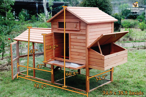 bantam large chicken coop for sale