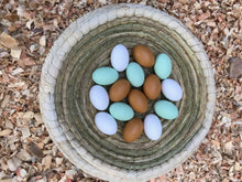 Dozen artificial wooden eggs - the Chicken Coop Company