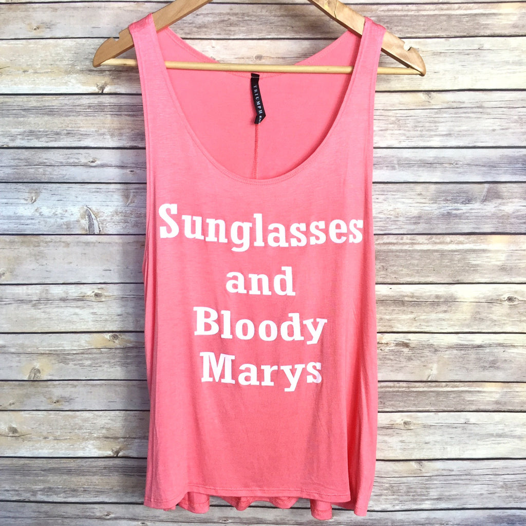 Sunglasses & Bloody Marys Tank