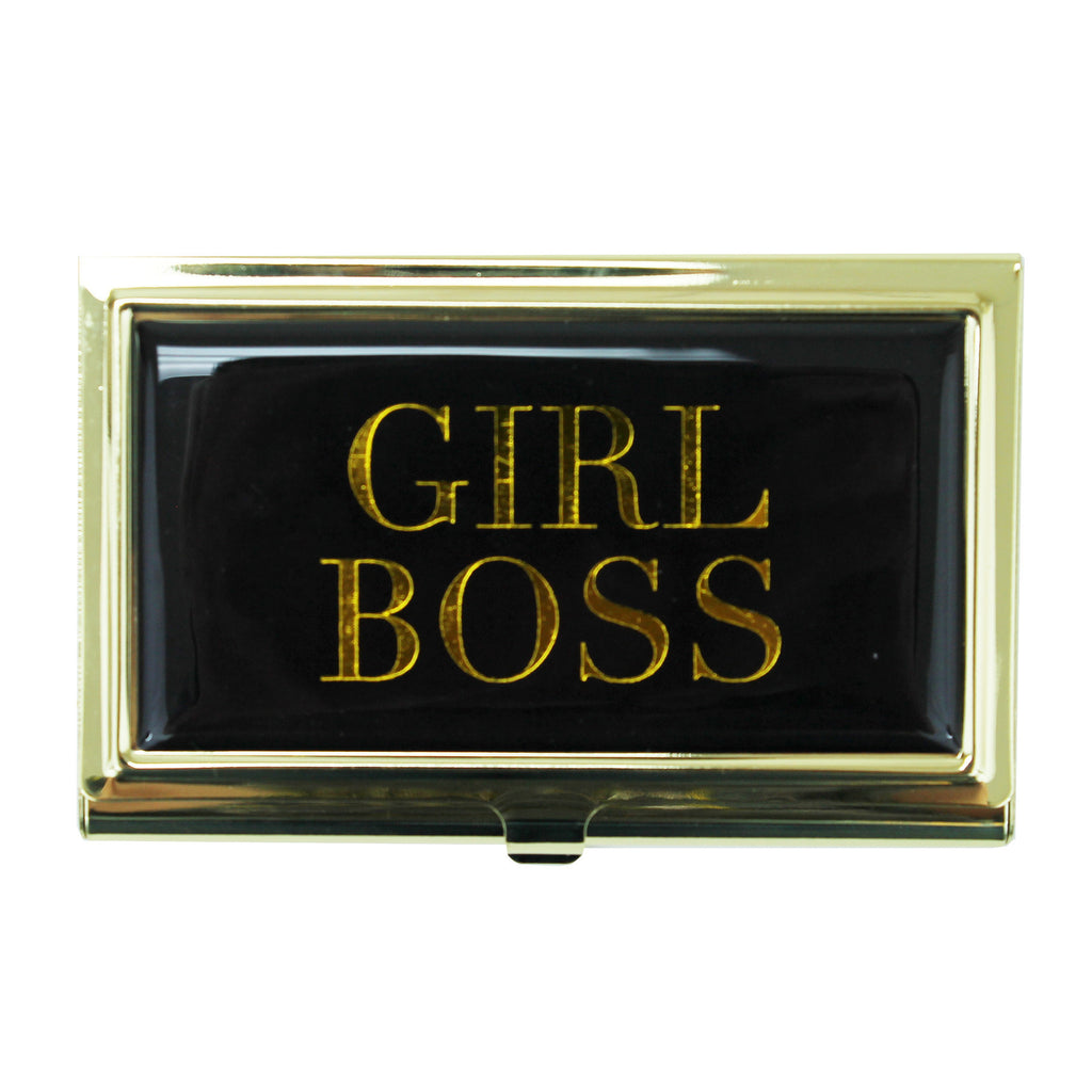 Girl Boss Business Card Holder