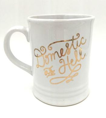Domestic As Hell Mug - Harper East Boutique