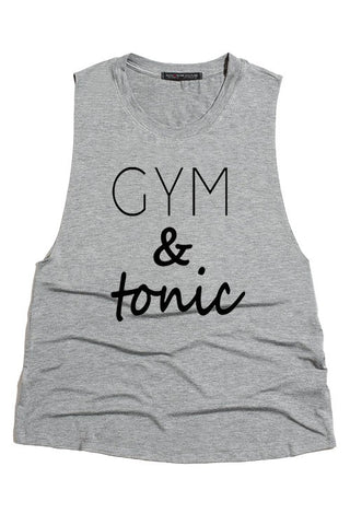 Gym & Tonic Tank - Heather Gray