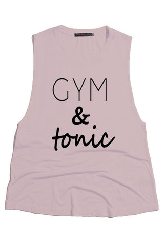 Gym & Tonic Tank - Mauve