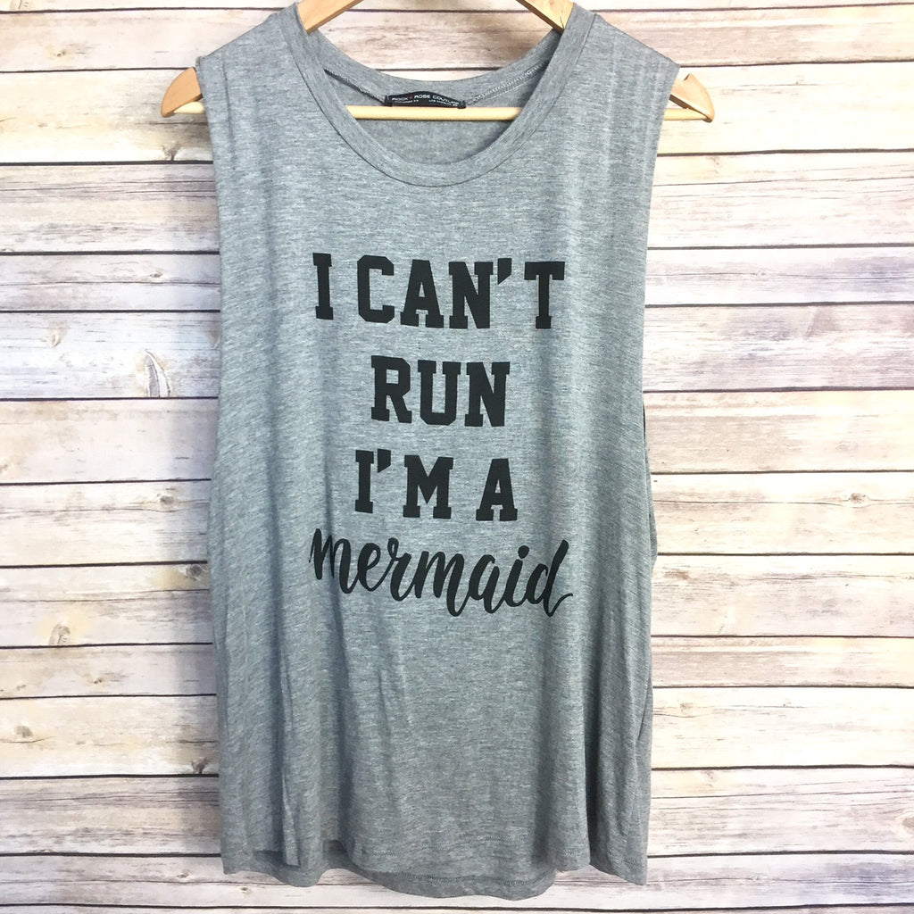 Can't Run, I'm A Mermaid Tank - Harper East Boutique
