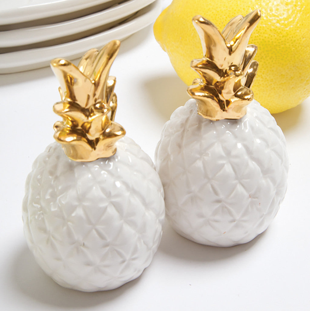 Pineapple Salt & Pepper Shakers - Harper East Boutique