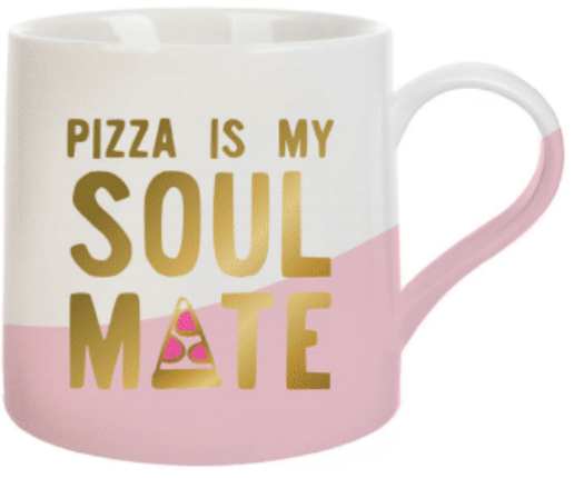 Pizza Is My Soulmate Oversized Coffee Mug - Harper East Boutique