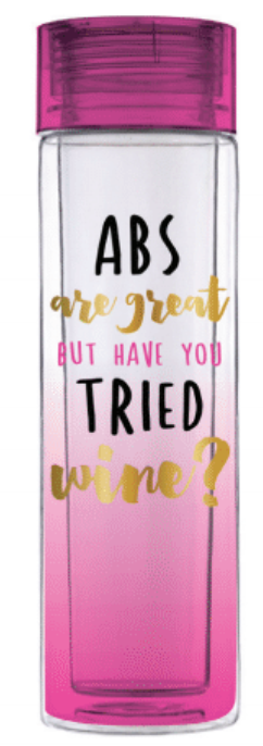 Abs Are Great Water Bottle - Harper East Boutique