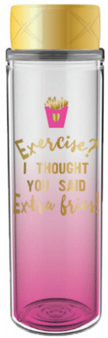 Extra Fries Water Bottle - Harper East Boutique
