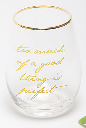 Good Thing Stemless  Glass - Harper East Boutique