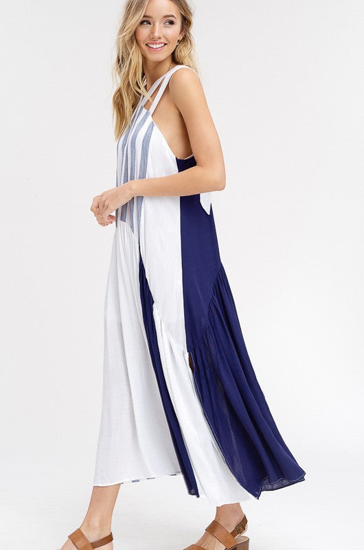 Anchors Away Maxi Dress