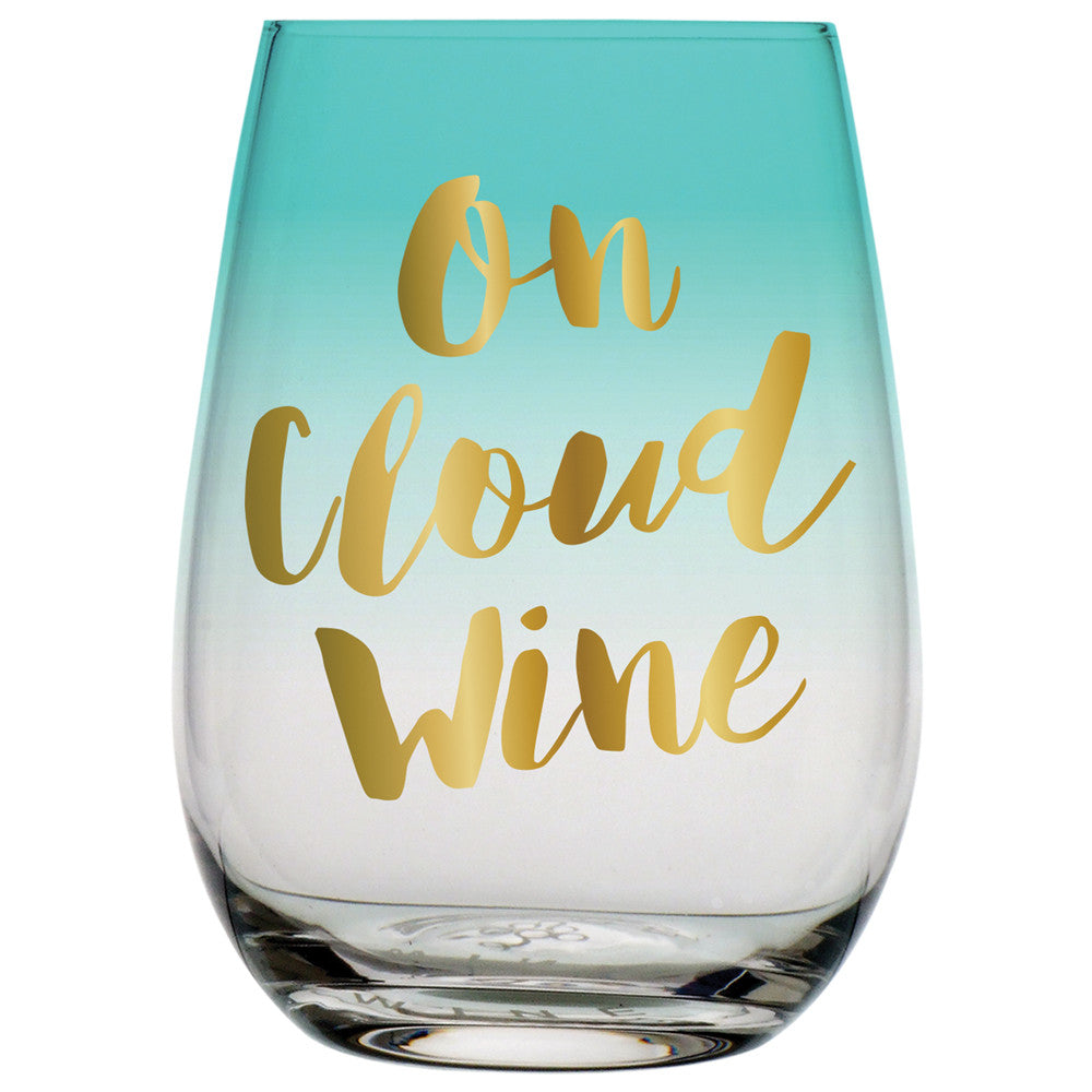 On Cloud Wine Glass - Harper East Boutique