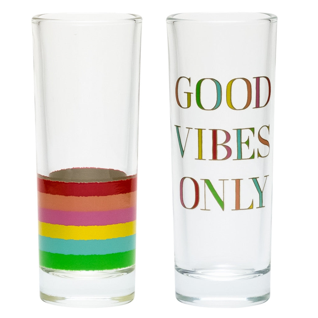Good Vibes Only Shot Glass Set - Harper East Boutique