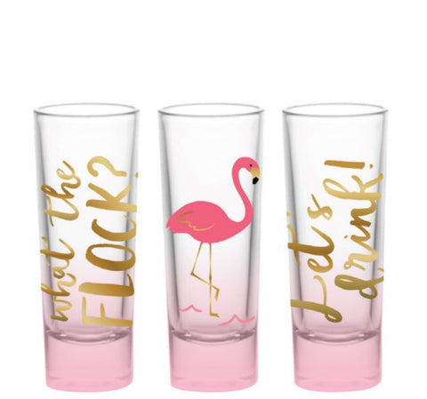 What The Flock?! Shot Glass Set