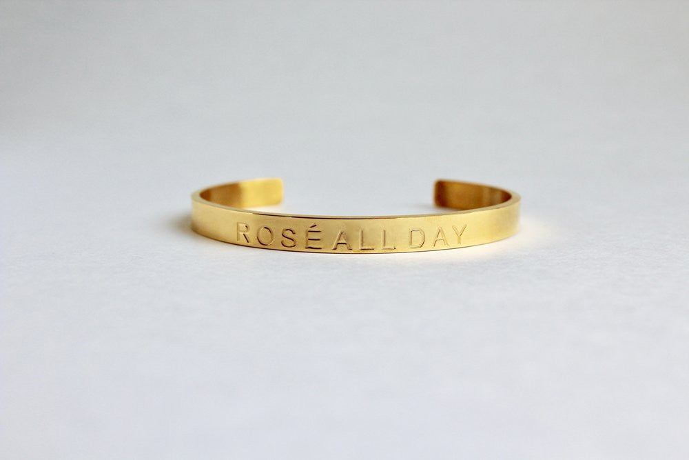 Rose All Day Cuff - Gold - Harper East Boutique