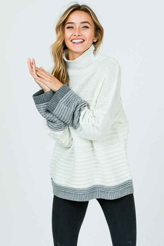 At The Lodge Pullover Sweater