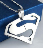 Superman Stainless Pendant Necklace