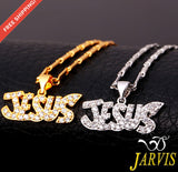 Jesus Piece Necklace & Pendant Body Chain