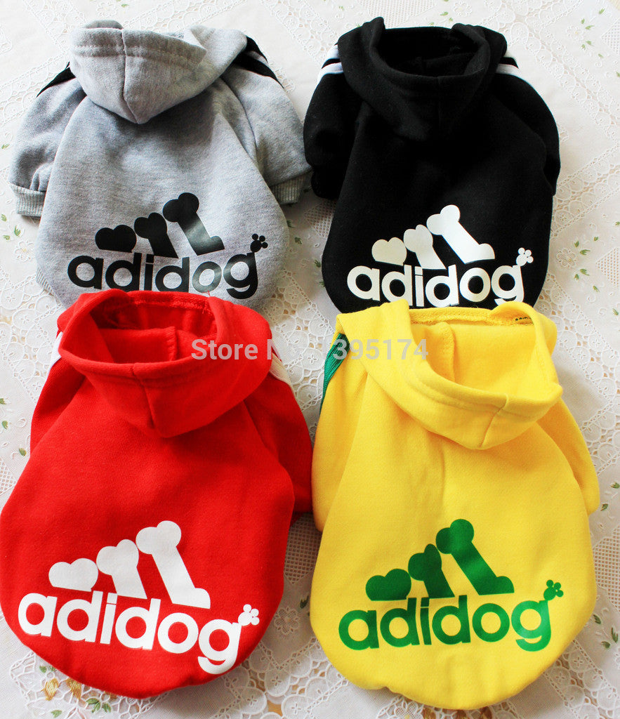 Pet Puppy Dog Clothes Hooded Coat Playsuit Outwear Costumes