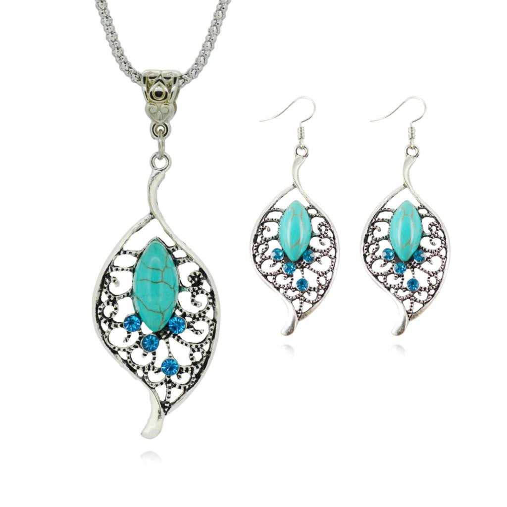 ****FREE SHIPPING**** 925 Silver Water Drop Jewelry Set