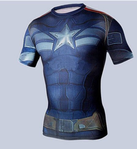 ***Free Shipping*** Super Hero Man of Steel-beast-mode compression (SEXY FIT) sports shirt