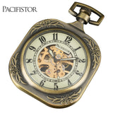 ORIGINAL PACIFISTOR Vintage Pocket Watch Pendant ---> Just Pay Shipping