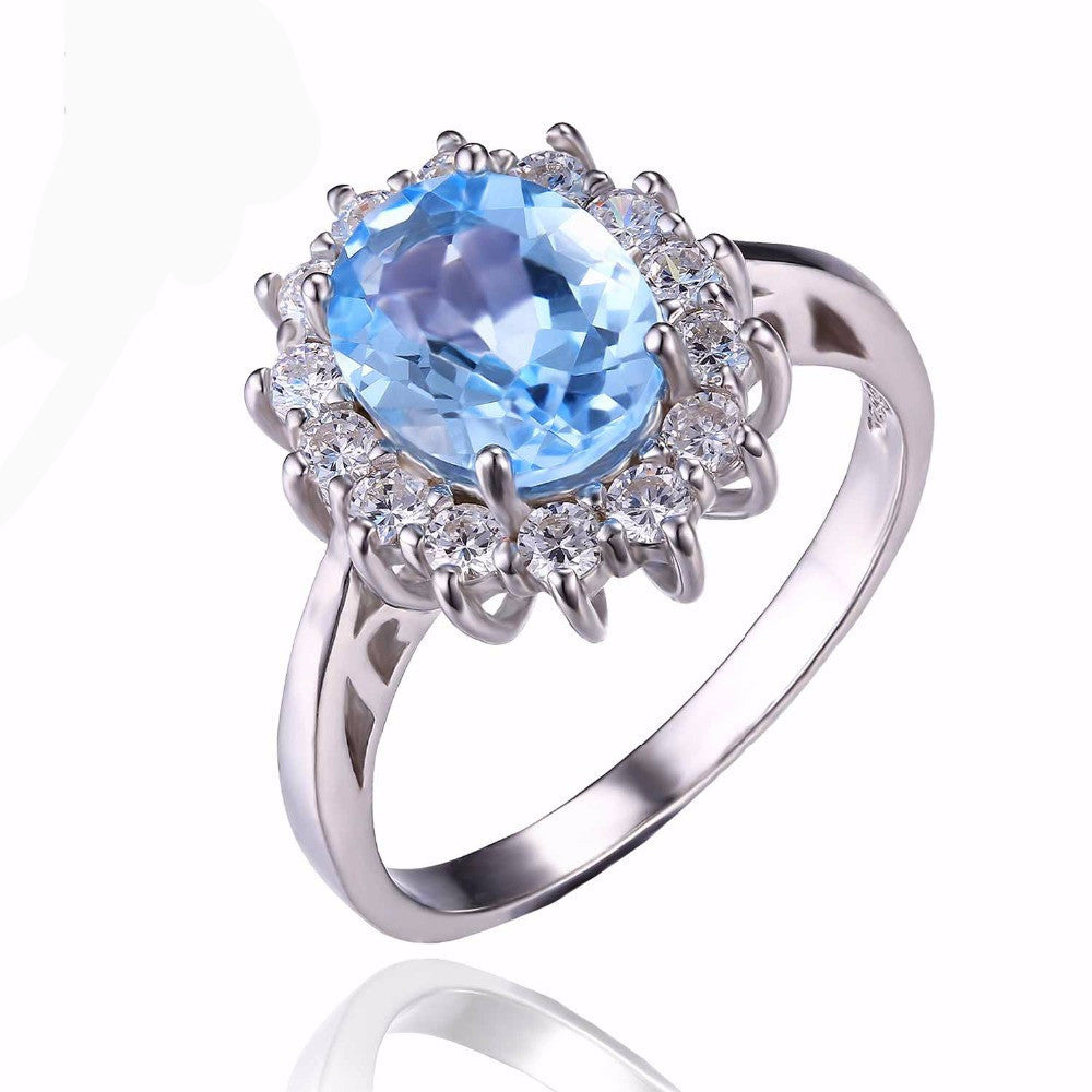 ***BEST SELLING*** Gemstone Topaz 925 Sterling Silver >>> Free Shipping<<<