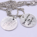 2016 new Grey's Anatomy couples friendship necklaces you are my person, pendant necklace