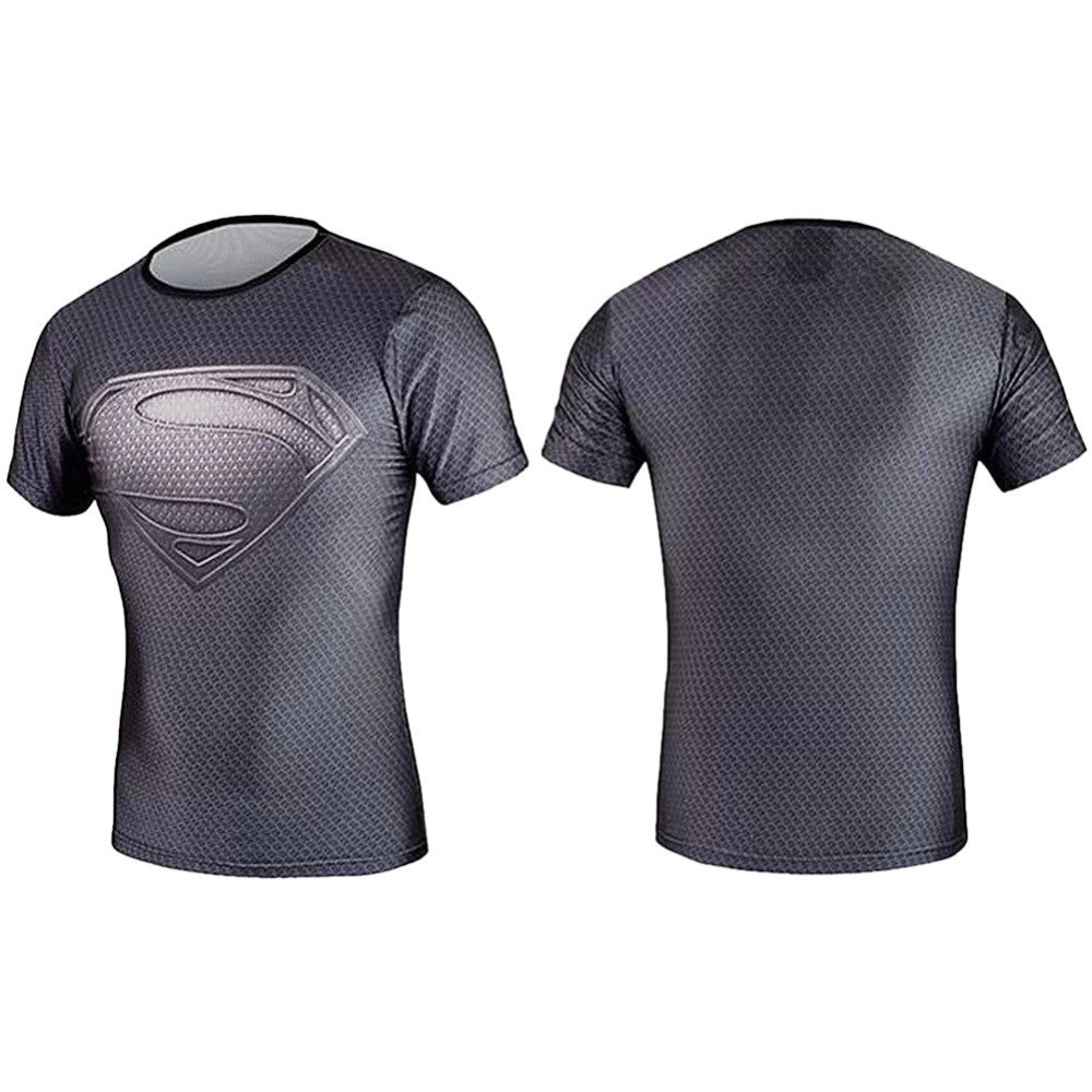 Super Hero Compression Armour Base Short Sleeve Thermal Under Top
