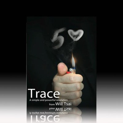 Trace Gimmick and DVD by Will Tsai Magic Prop MagicTrick
