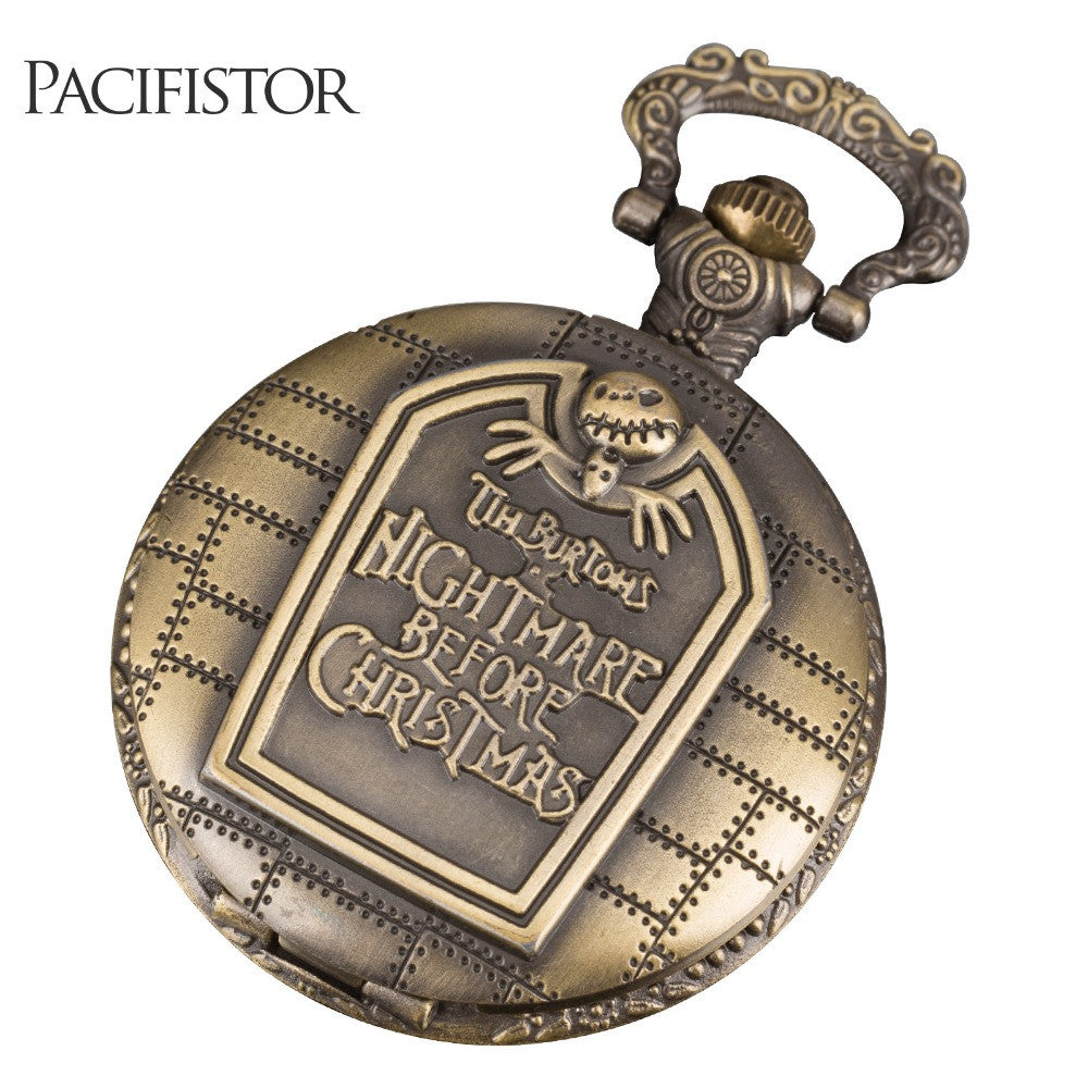 ORINIGAL PACIFISTOR Pocket Watches Nightmare Before Christmas ...