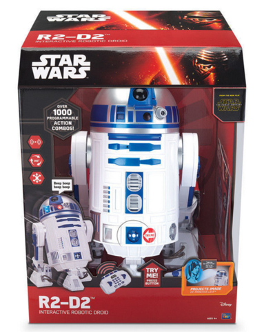 R2-D2 INTERACTIVE ROBOTIC