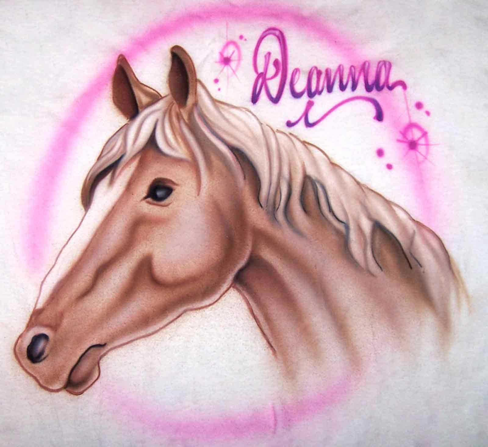 Airbrush Horse profile