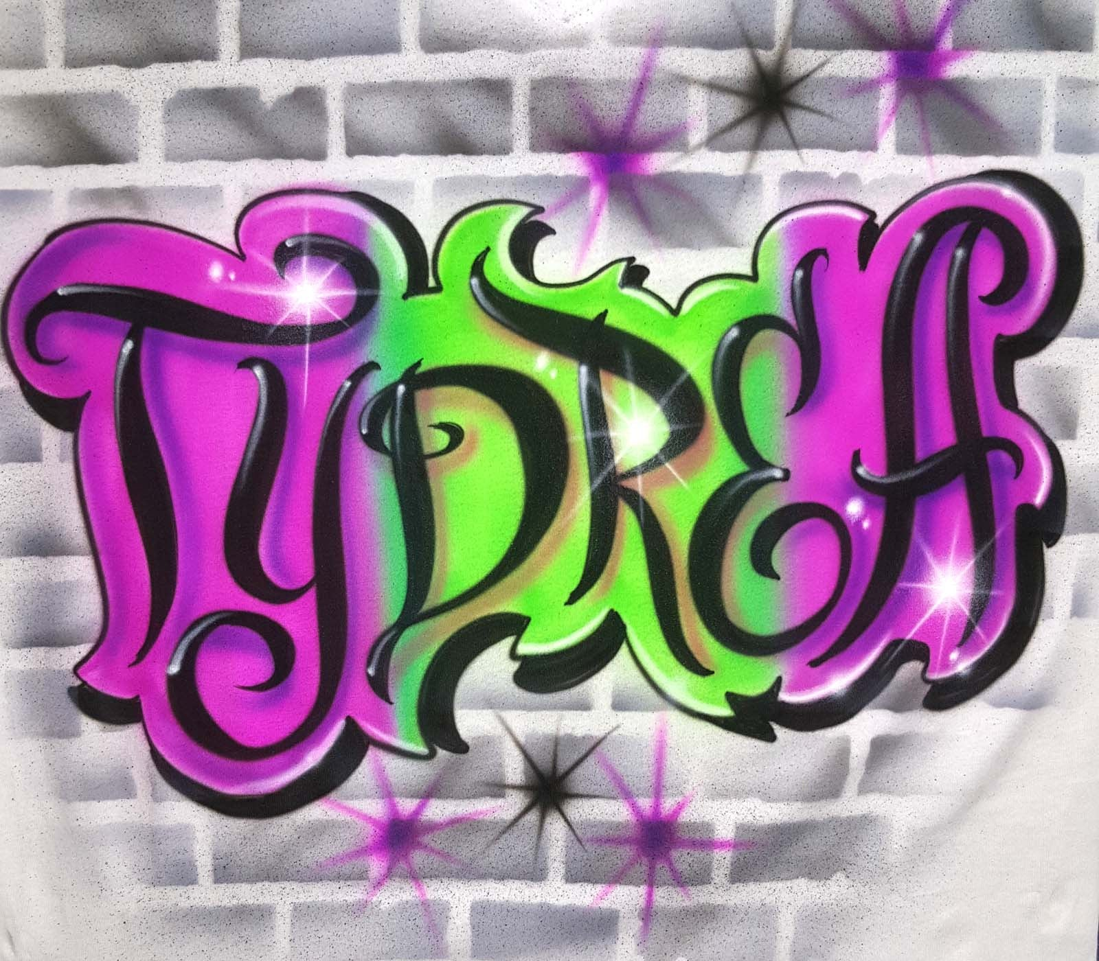 Graffiti-brick-wall-airbrush Shirt