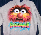 Animal Airbrushed Muppets Custom Sweatshirt
