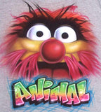Muppets Animal Airbrushed Personalized T-Shirt