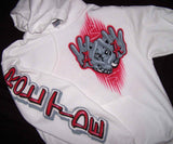 Alabama Airbrushed Front Logo and Sleeve Roll Tide