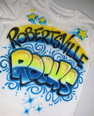 Airbrush School Rocks Graffiti Shirt