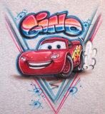 Lightning McQueen Airbrushed Cars T-Shirt