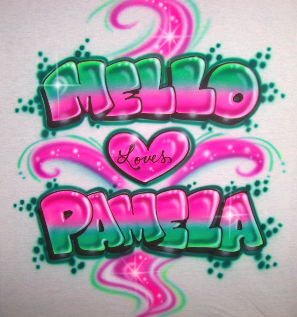 Custom Airbrushed Shirts Personalized Gifts And Party Services