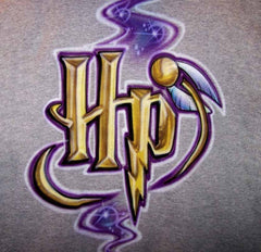 Harry Potter Custom Logo Airbrushed T-Shirt Sweatshirt Hoodie